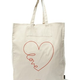 Paul Smith - LOVE WIRE TOTE BAG