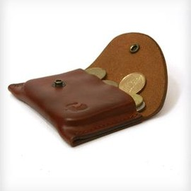 RED CLOUDS COLLECTIVE - Leather Change Purse/Card Holder