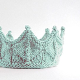 laceandcable - Mint Green Ice Queen Crown