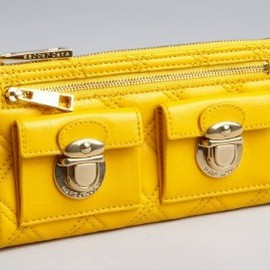 MARC JACOBS - Quilted Clutch Wallet