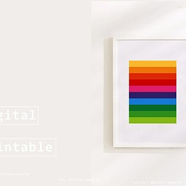 Niki - 3 Printable Prints Colors Bundle ! - Illustrations