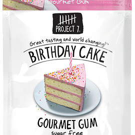 Project Seven - Birthday Cake Gum