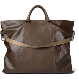 BOTTEGA VENETA - Coated - Linen and Leather Tote Bag