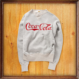 Cocca-Cola × HUMAN MADE by BEAMS - SWEAT ¥18,690
