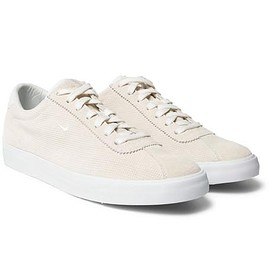 Nike - NikeLab Match Classic Perforated Suede Sneakers