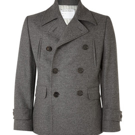 Black Fleece  - Black Fleece Double-Breasted Wool-Blend Coat
