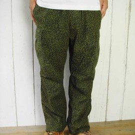 nepenthes Purple Label - Leopard Printed Pant-BDU