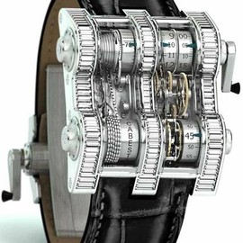 Cabestan - Winch Tourbillon Vertical Watch