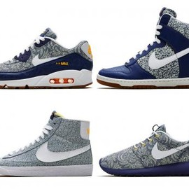 Nike - LIBERTY LONDON × NIKE SPRING/SUMMER 2014 COLLECTION
