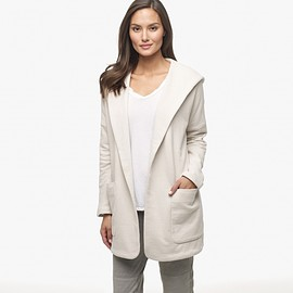 JAMES PERSE - FRENCH TERRY HOODIE COAT