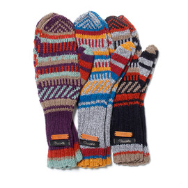 hobo - JACQUARD MITTENS by TRICOTE