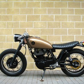 "Addiction Custom Motorcycles - ""The Screamer"" 1988 Yamaha SR400"
