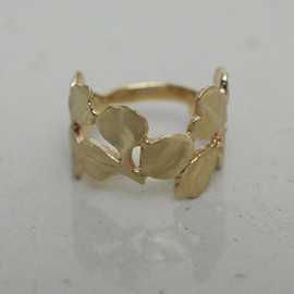PLANT / PLANT - Gold Leaf Ring
