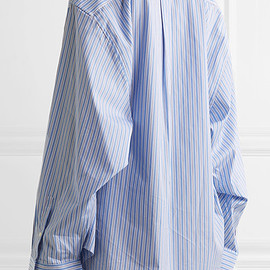 Vetements × Comme des Garçons - Oversized Striped Shirt