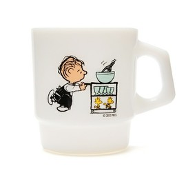 "Fire King - STACKING MUG ""CAFE/LINUS"""