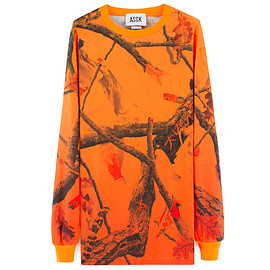 ASSK - FOREST LONG TSHIRT - Orange