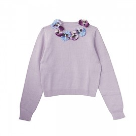 Honey mi Honey - pansy knit pullover