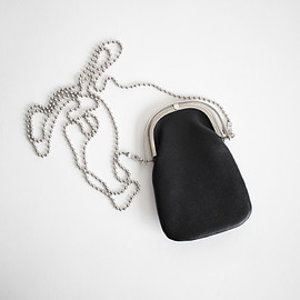 ED ROBERT JUDSON|UNISEX - ODD CHAIN PURSE #BLACK [B01DCO-05]