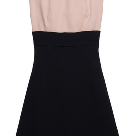 miu miu - Two-tone cady dress