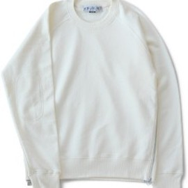 bal - Side Zip Crew Neck (ivory)