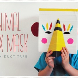 MerMagAnimalBoxMasks1 by mer mag, via Flickr