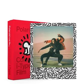 Polaroid - Color i‑Type Film ‑ Keith Haring Edition