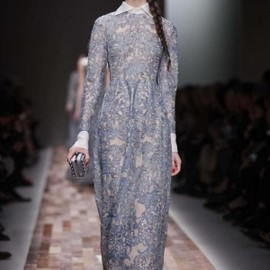 VALENTINO - Valentino Fall Winter Ready To Wear 2013 Paris