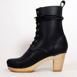 """NO.6 - 8"""" lace up leather boot"""