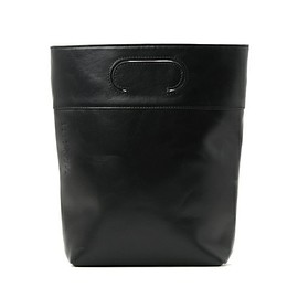 THE CASE - THE CASE おとな Leather bucket small(ハンドバッグ)