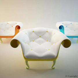 Tsar Armchair Design by Fajno Design