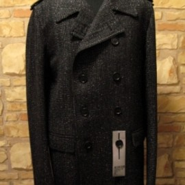 DIOR HOMME - 08A/W Tweed Pea Coat