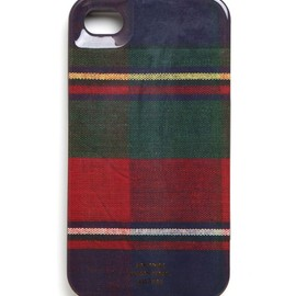 Jack spade - Flannel Plaid IPhone 4 Hard Case