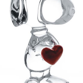 BACCARAT - Snoopy Heart