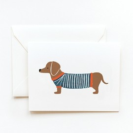 Rifle Paper Co. - Dachshund Card