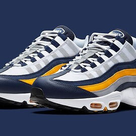 NIKE - Air Max 95 - Midnight Navy/White/University Gold
