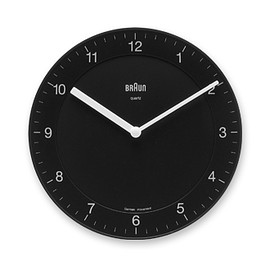 BRAUN - 「Wall Clock」BNC006 / Black