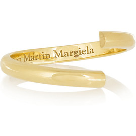 Maison Martin Margiela - Alliance 18-karat gold ring