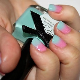 How To: Ombré Nail Design Tutorial By Nail Rock