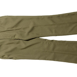 NEEDLES - Boot Cut Jean-Poly Twill-Olive