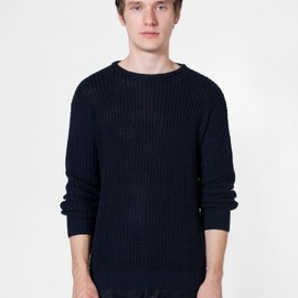 American Apparel - Fisherman's Pullover Navy