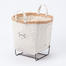 Steele canvas basket - STEELE CANVAS BASKET ROUND