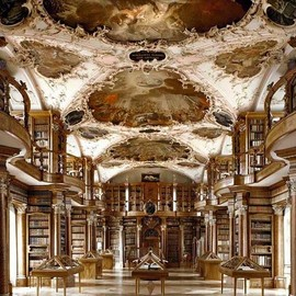 Library of St. Gallen, Switzerland - Library of St. Gallen, Switzerland