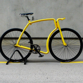 Velonia - viks: steel tube fixed gear commuter bike
