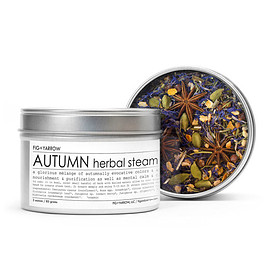 BURKE DECOR - AUTUMN HERBAL STEAM BY FIG & YARROW