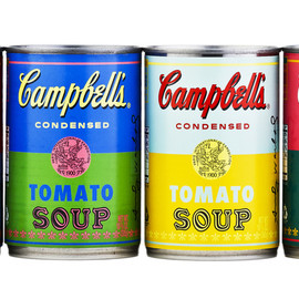 Campbell's - Andy Warhol with 50th Anniversary Soup Cans