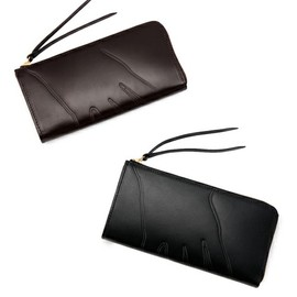 "LUGGAGE LABEL×B印 YOSHIDA - ""shadow"" (LONG WALLET)"