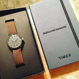 timex ayasaENGINEERED GARMENTS × TIMEX × BEAMS BOY - timex ayasaENGINEERED GARMENTS × TIMEX × BEAMS BOY