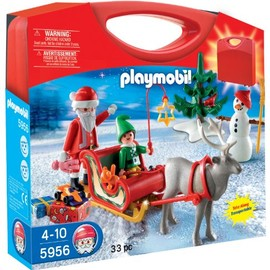 Playmobil - プレイモービル Playmobil Carrying Case Holiday 【5956】