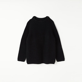 MARGARET HOWELL - LINEN COTTON RIB JUMPER