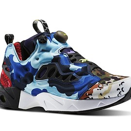 Reebok - INSTA PUMP FURY ROAD CC Black/Solar Yellow/White